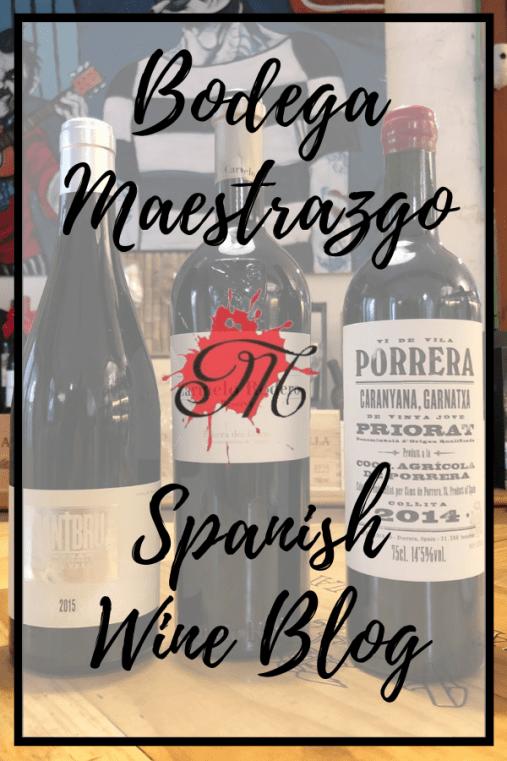 Spanish Wine Blog at Bodega Maestrazgo