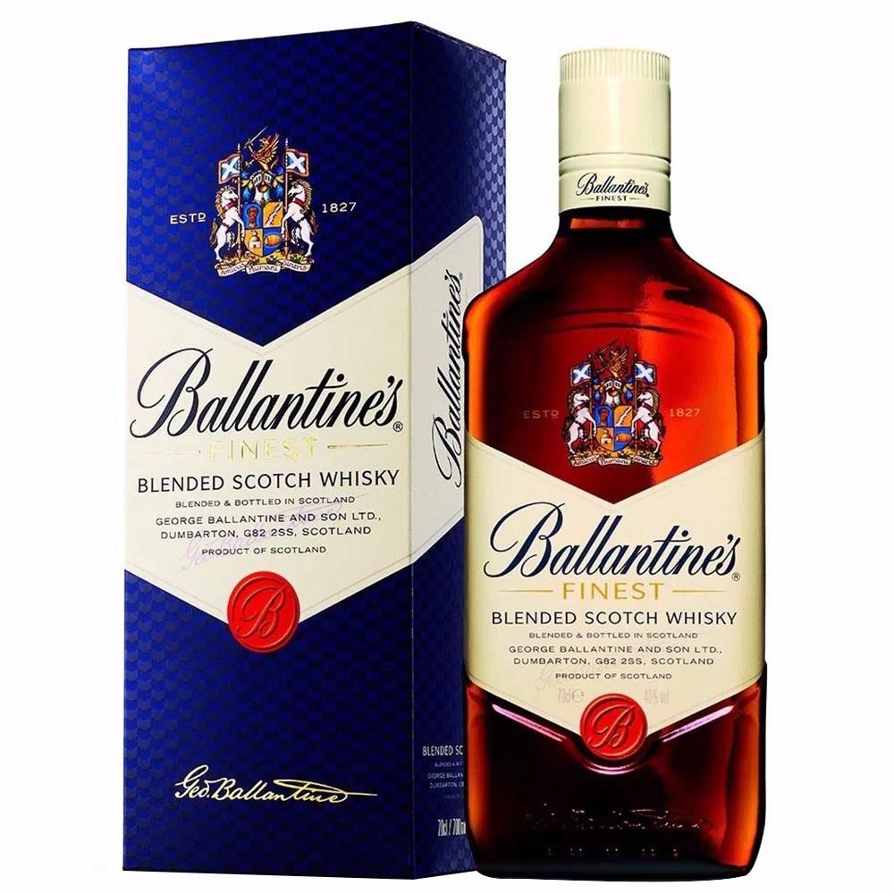 Whisky Ballantines Finest 750ml 1918 Bodegas Alianza