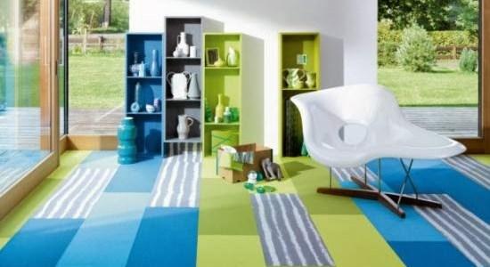 Bodenbelag Trends & Neuheiten: Teppichdielen