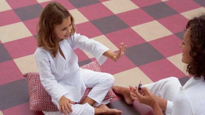 Marmoleum Click Linoleum im Kinderzimmer ein gesunder Bodenbelag