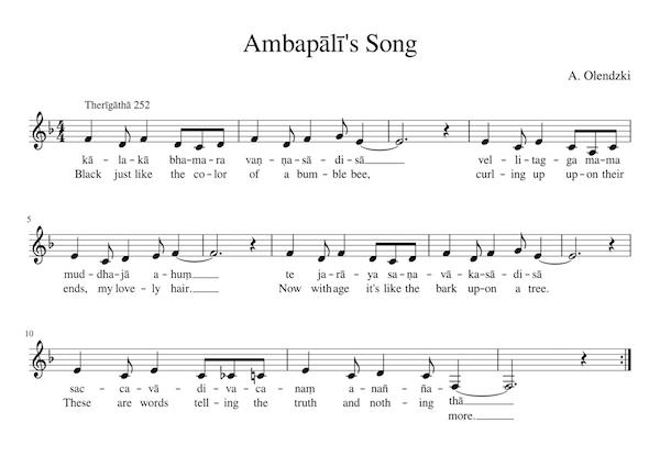 Ambapalī's Song
