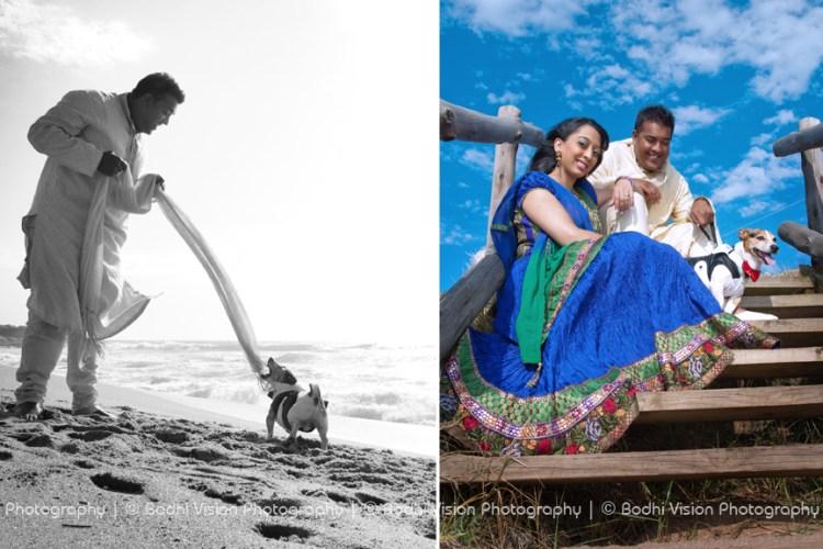 Bodhi Vision Photography, Couple and dog photo shoot, Durban Engagement photo shoot