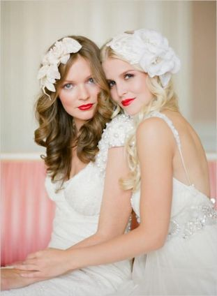 pinterst labios rojos novias