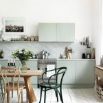 A beautiful Swedish flat with white floorboards