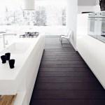 5 very sleek, gorgeous and inspiring white kitchens