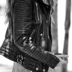 My favourite looks with a biker leather jacket