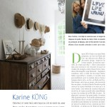 OUR HOME IN FRANCE IN COTE OUEST MAGAZINE