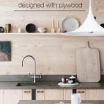 Comment créer une cuisine belle & moderne en contreplaqué