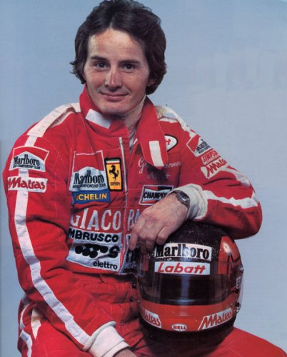 The favourite of many: Gilles Villeneuve