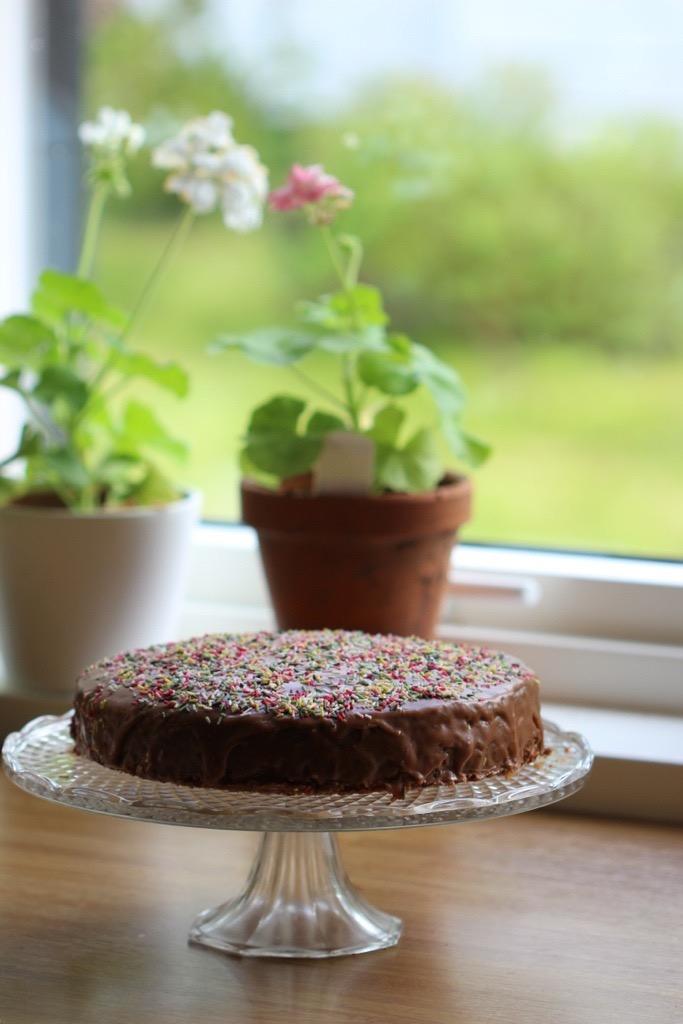 Farmors fantastiske sjokoladekake