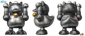 Aflac Japan Maneki-Neko Duck