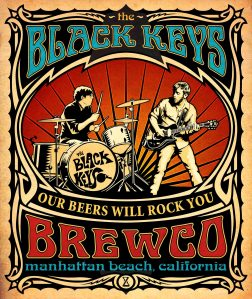 Brewco Black Keys poster