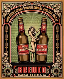 Brewco See Double, Feel Single poster.