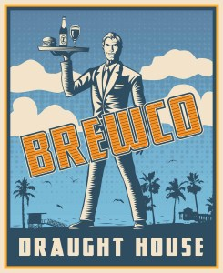 Brewco Draught House poster.