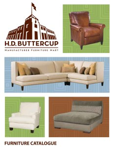 HD Buttercup catalogue designed for The Studio El Segundo.