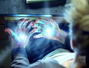 I Am Number 4 hand illumination concept V03. Designed for Eddie Yang Studios.
