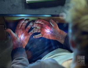I Am Number 4 hand illumination concept V01. Designed for Eddie Yang Studios.