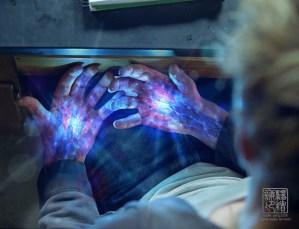 I Am Number 4 hand illumination concept V02. Designed for Eddie Yang Studios.