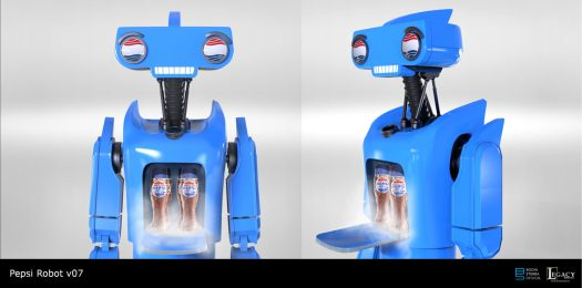 Pepsi Perfect Back to the Future Robot Design v07