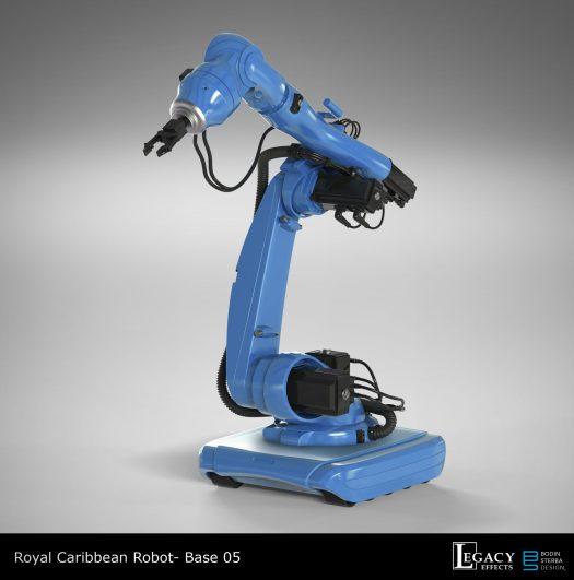 Royal Caribbean Robot Bartender