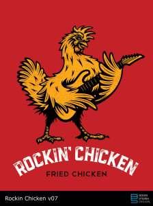 Rockin' Chicken logo v07 pitch