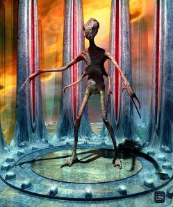 Alien concept.