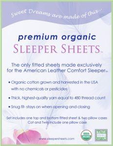 Sleeper Sheets packaging designed for The Studio El Segundo.