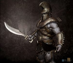 Hoplite v07 designed for Legacy Effects.