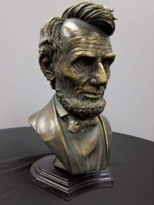 Abe Lincoln bust 3D print