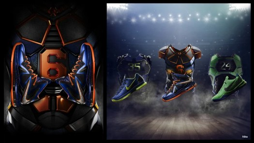Superhero Elite suit details. Image from Nike ad campaign.