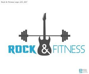 Rock'n Fitness early logo WIP v03_007