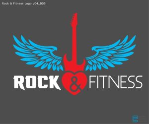 Rock'n Fitness early logo WIP v04_005