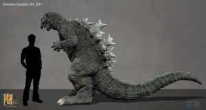 Snickers Godzilla design