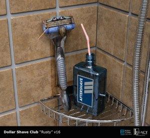 "Dollar Shave Club ""Zeke"" design"