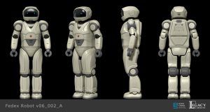 Robot design for Fedex commercial
