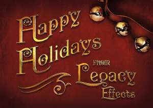 Legacy Effects 2014 Holiday Card