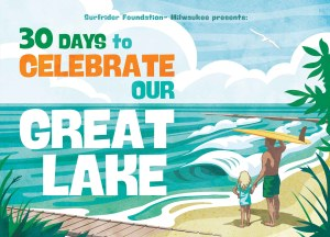 Surfrider Milwaukee 30 Days postcard