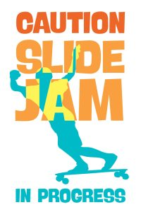 Surf @Water Slide Jam sign