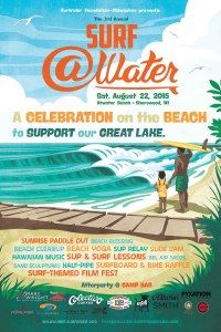 Surf @Water 2015 poster