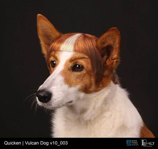 Quicken Loans vulcan dog design
