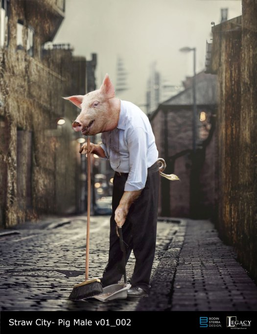 "The Real Cost Commercial: ""Straw City"" Shop Owner Pig"