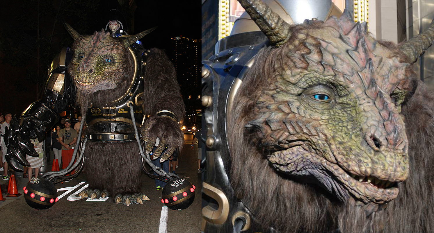 Bodock the Giant Creature at Comic-Con 2014