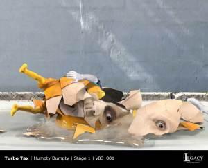 TurboTax Humpty Dumpty Stage 1