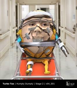 TurboTax Humpty Dumpty Stage 2