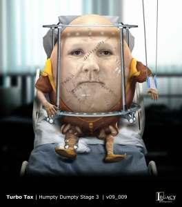TurboTax Humpty Dumpty Stage 3