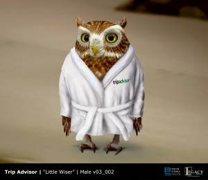 Trip Advisor- Little Wiser owl design