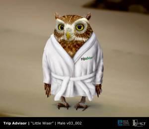 Trip Advisor- Little Wiser owl design