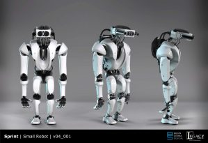 Sprint Small Robot Early Design
