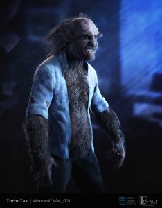 TurboTax Werewolf WIP
