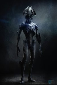 Pitch alien design 07